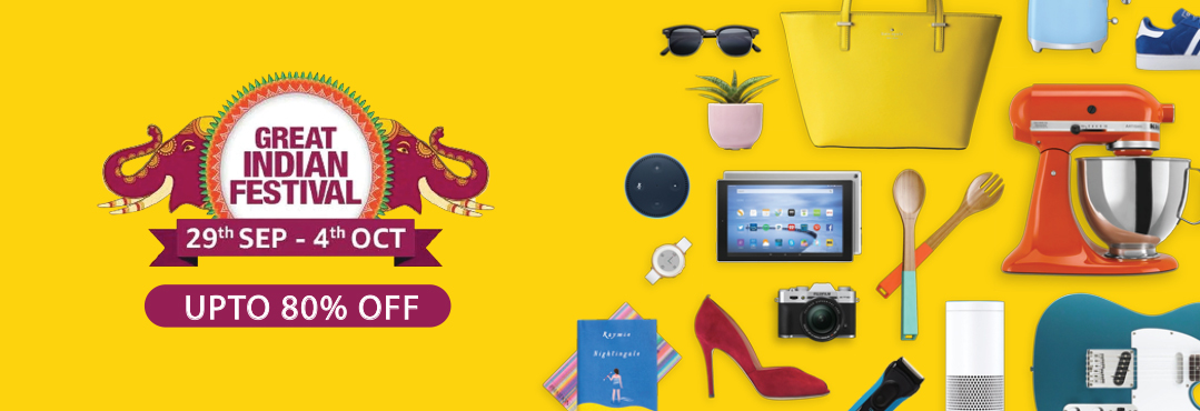 Amazon Great Indian Festival Sale Offers 2020