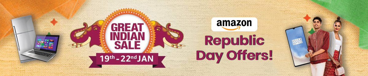 Amazon Republic Day Offers
