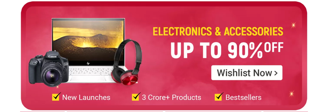 Flipkart Big Billion Days Electronics Accessories Offers