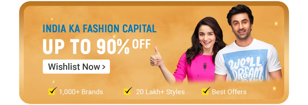 Flipkart Big Billion Days Fashion & Lifestyle Offers