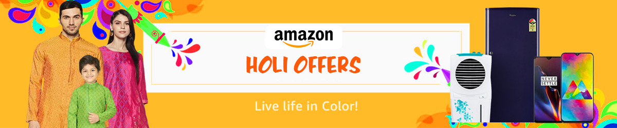 Holi Amazon Offers