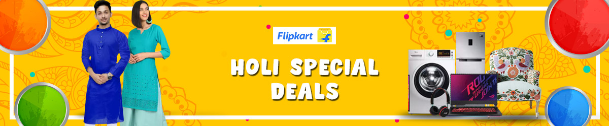 Flipkart Holi Offer