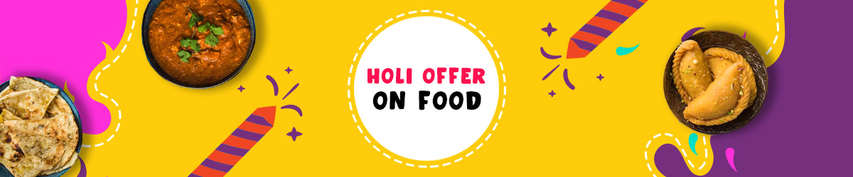 Holi Offers on Food