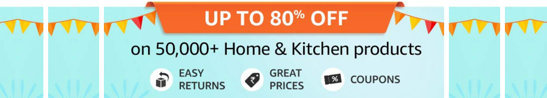 Offers on Home and Kitchen Appliances