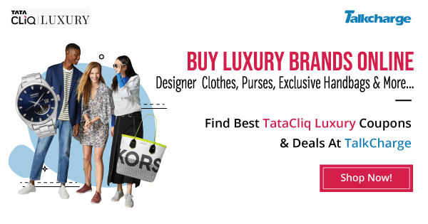 Tata Cliq Luxury Offers