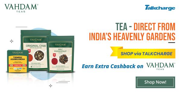 Vahdam Teas Offers