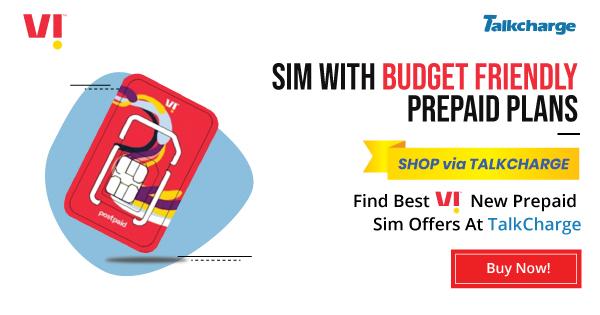 Vodafone New Prepaid SIM